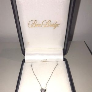 Stunning solitary diamond necklace